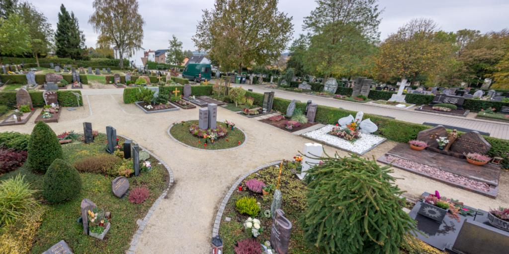 Grabfelder von Garten Glück Bretten